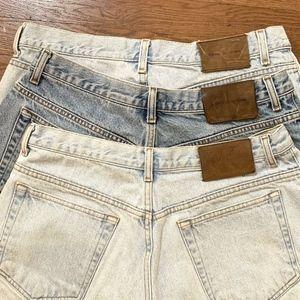 Calvin Klein Vintage High Waist Mom Jean Short Lot